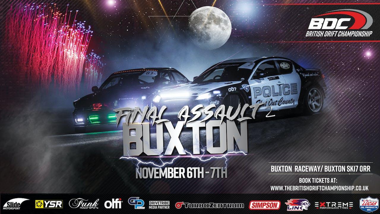 Buxton Livestream - Round Four 2020