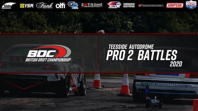 Teesside - Round Three 2020 - Pro 2 Battles