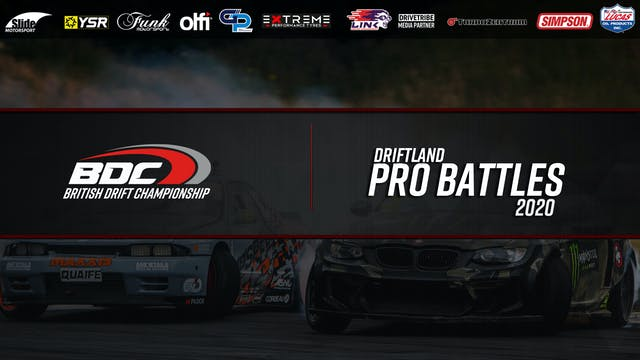 Driftland  - Round One 2020 - Pro Battles