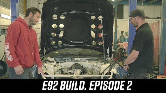 BDC BMW E92 Build Episode 2
