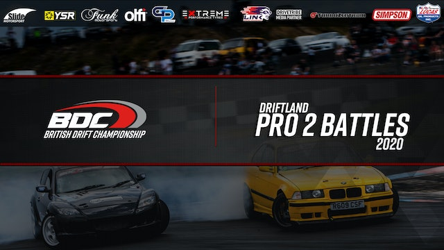 Driftland - Round One 2020 - Pro 2 Battles - Full HD