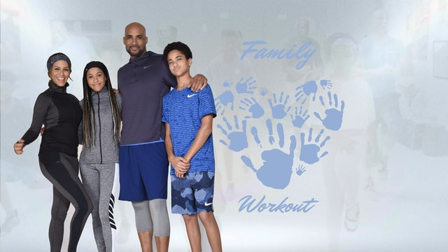 Family Workout With Terry Crews