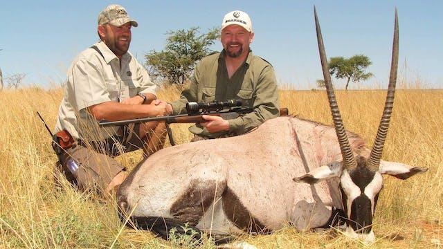 Ett jaktäventyr i Namibia Trailer
