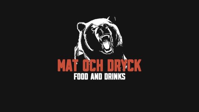 Mat och dryck   Food and drinks
