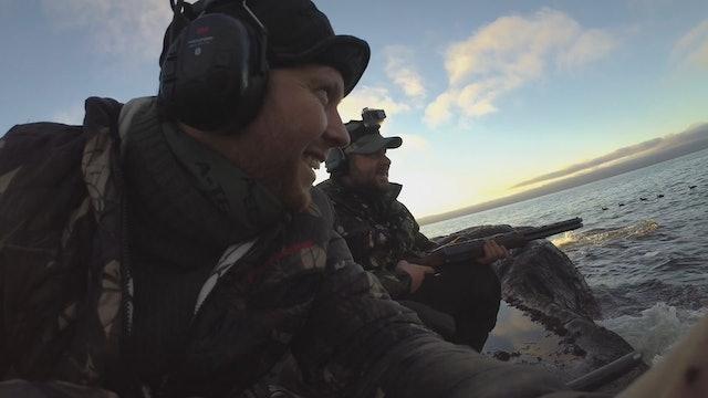 Martin Brennes Jegerliv : Jakt på Ejder, Skarv och Svartand