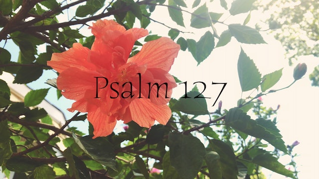 Simply Scripture Series: Psalm 127 (Episode 3)