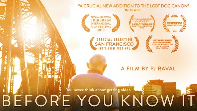 BEFORE YOU KNOW IT Theatrical Trailer