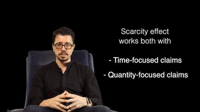 Scarcity effect