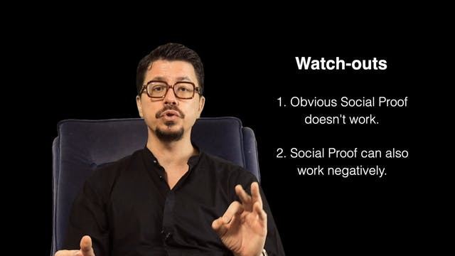 Social proof Watch-outs