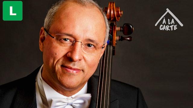 Antonio Meneses - a câmera e o violoncelo