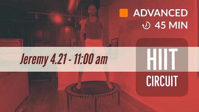 Cardio HIIT! | 4/21/20 | Jeremy
