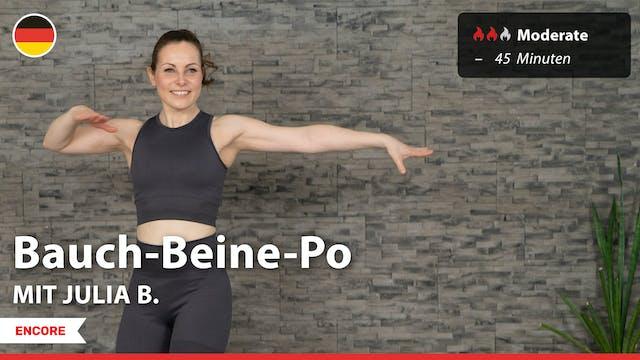 [ENCORE] Bauch-Beine-Po | 9/3/21 | Ju...