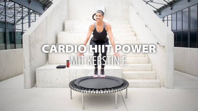 Cardio HIIT Power mit Kerstin F.