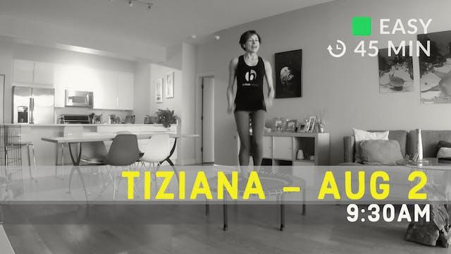 Balance It All | 8/2/20 | Tiziana