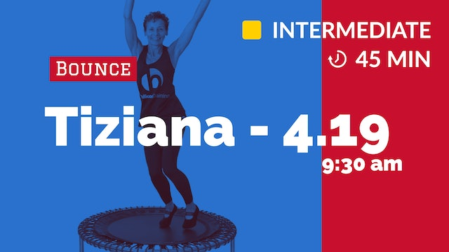 Happy Cardio | 4/19/20 | Tiziana