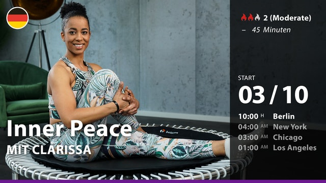 [PREMIERE] Inner Peace   10/3/21   Clarissa