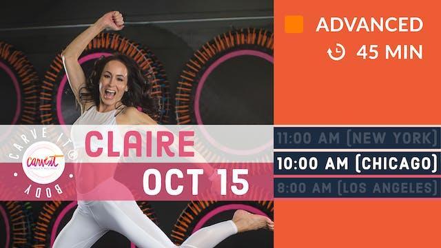 Carve It® BODY | 10/15/20 | Claire