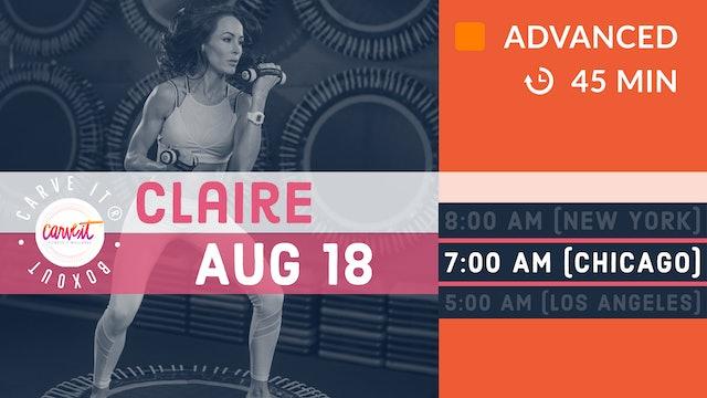 Carve It® | BOXOUT | 8/18/20 | Claire