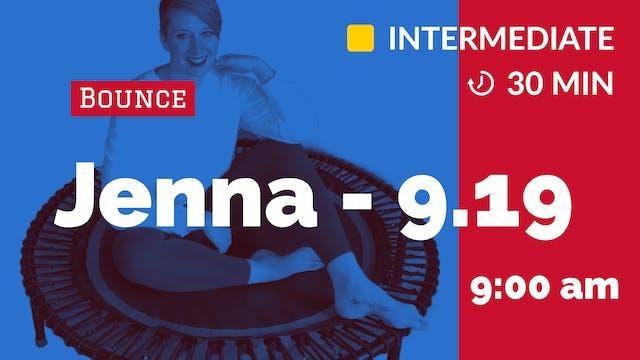 Quick Cardio Bounce | 9/19/20 | Jenna