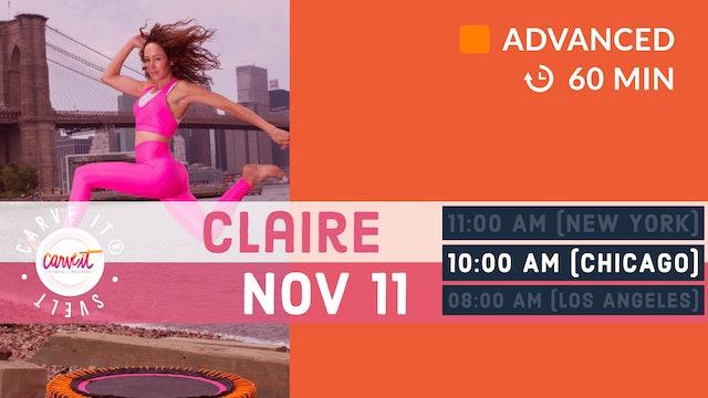 Carve It® SVELT-down | 11/11/20 | Claire