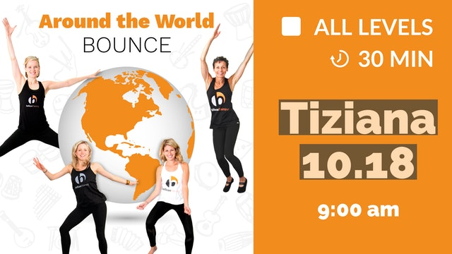 Around the World Bounce: Country! | 10/18/20 | Tiziana