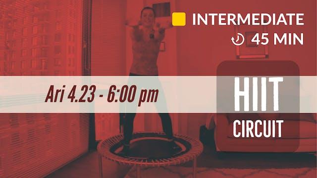 HIIT | 4/23/20 | Ari