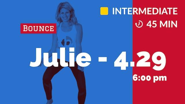 R&B Bounce | 4/29/20 | Julie