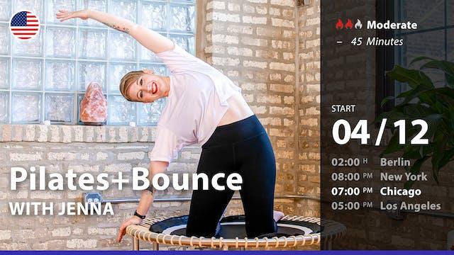 [PREMIERE] Pilates+Bounce | 4/12/21 |...