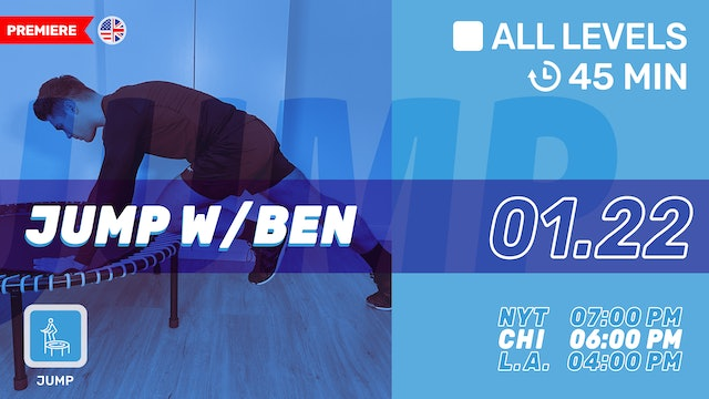 bellicon® JUMPING FITNESS | 1/22/21 | Ben