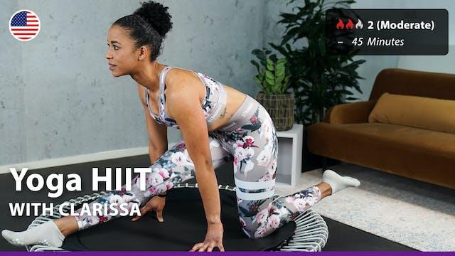 Yoga HIIT   10/1/21   Clarissa