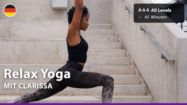 Relax Yoga | 5/2/21 | Clarissa