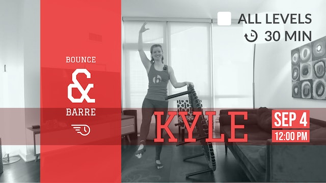 Barre with Confidence | 9/4/20 | Kyle
