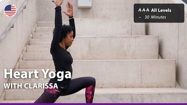 Heart Yoga | 5/7/21 | Clarissa