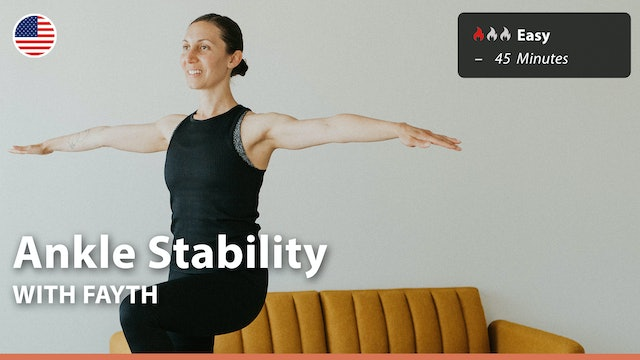 Ankle Stability   7/27/21   Fayth