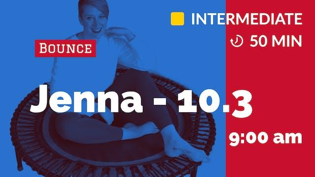 Cardio Bounce | 10/3/20 | Jenna