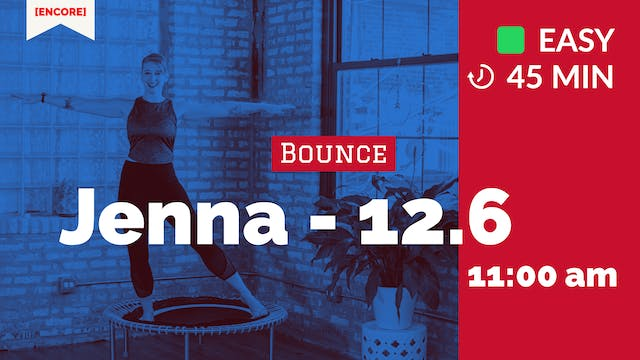 [ENCORE] Basic Bounce | 12/6/20 | Jenna