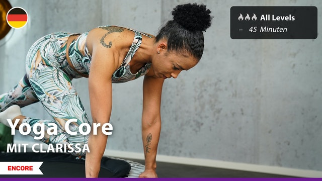 [ENCORE] Yoga Core | 7/22/21 | Clarissa