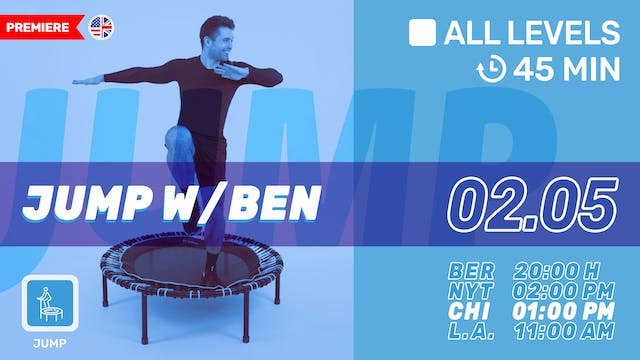 bellicon® JUMPING FITNESS | 2/5/21 | Ben