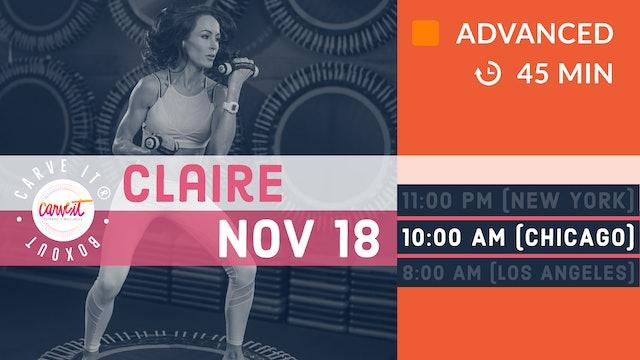 Carve It® | BOXOUT | 11/18/20 | Claire