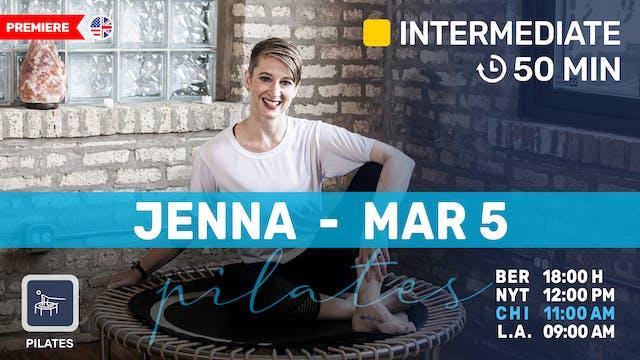 Pilates Meets Bounce | 3/5/21 | Jenna