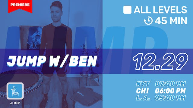 Jump Into The New Year | 12/29/20 | Ben