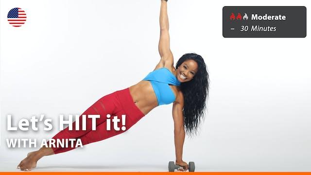 Let's HIIT it! | 4/12/21 | Arnita