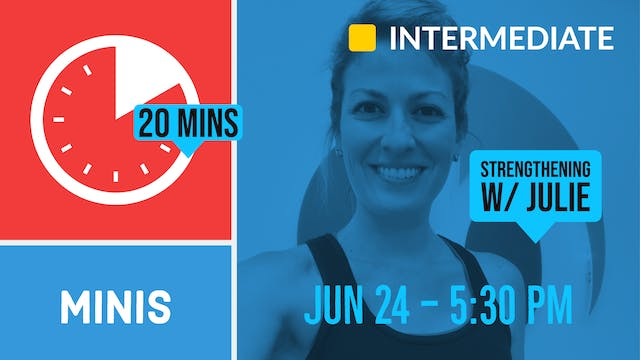 20 Minute Arms & Core Focus | 6/24/20...