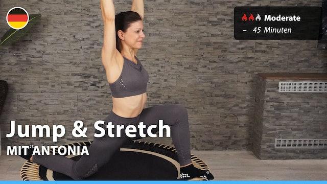 Jump & Stretch | 6/11/21 | Antonia