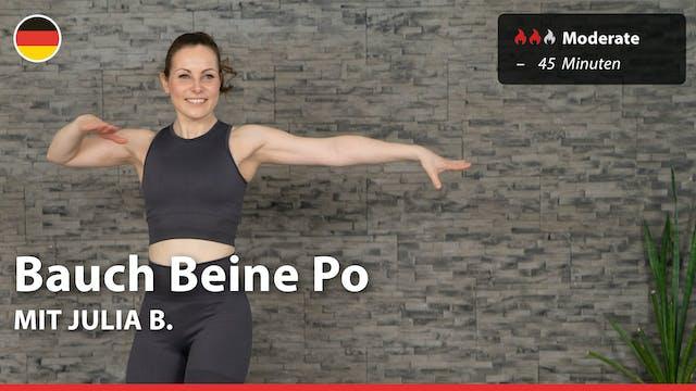 Bauch Beine Po | 4/2/21 | Julia B.