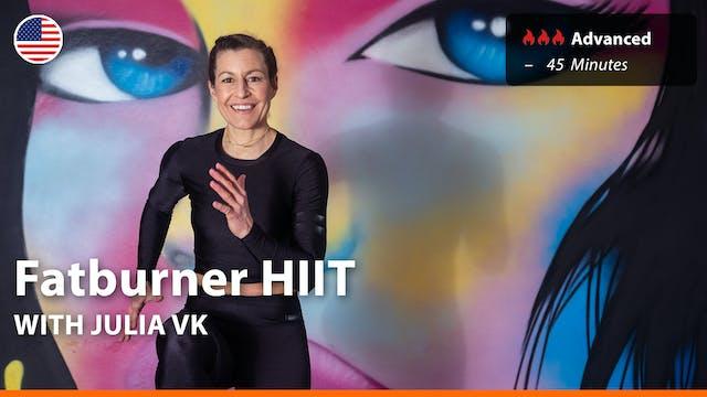 Fatburner HIIT | 4/14/21 | Julia vK.