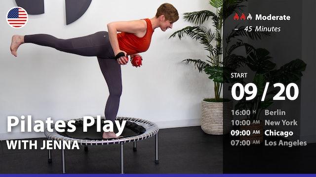 [PREMIERE] Pilates Play | 9/20/21 | Jenna