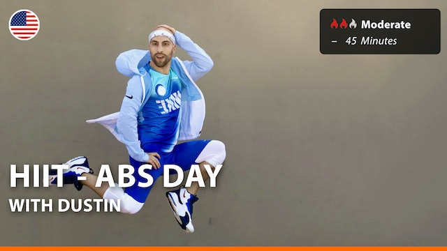 HIIT - ABS DAY | 6/12/21 | Dustin