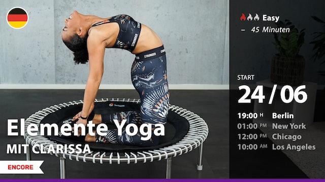[ENCORE] Elemente Yoga | 6/24/21 | Clarissa