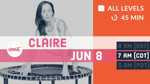 Carve It® Rejuvenate. Rebound. Strengthen. | 6/8/20 | Claire